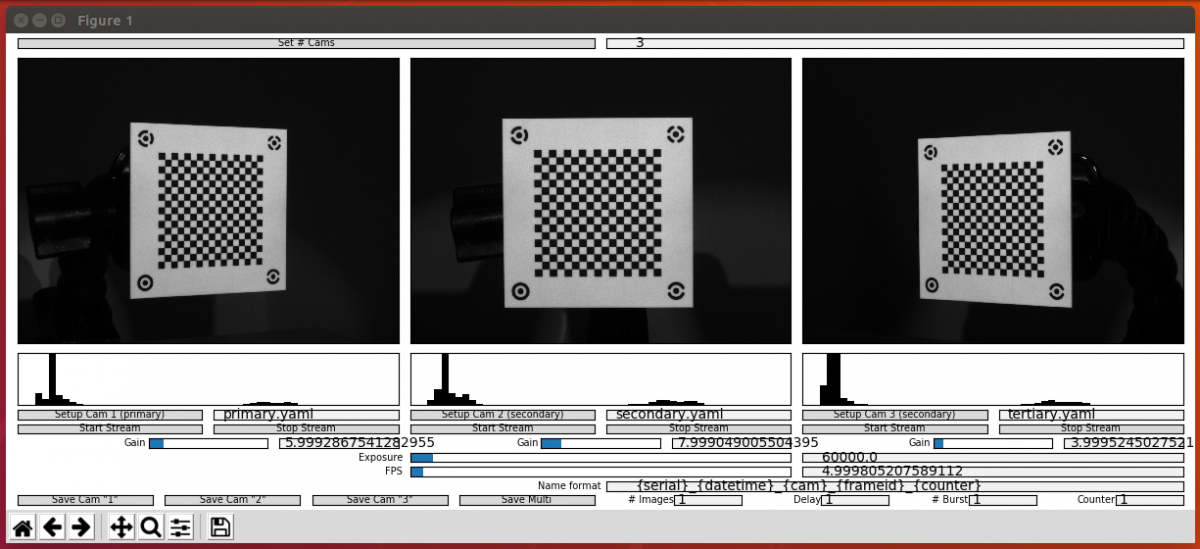 Acquiring Synchronized Multiple Camera Images with Spinnaker Python